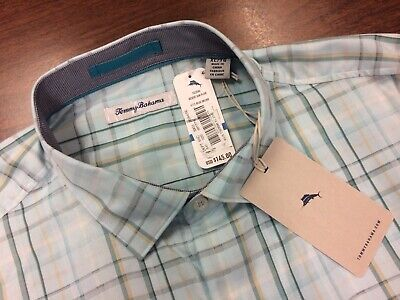 Tommy Bahama Dual In The Sun Reversible 100/% Pima Cotton L Buccaneer Blue NWT