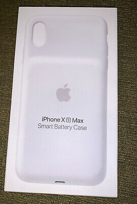 Apple iPhone Xs Max Smart Battery Case Matte White  Brand New In Box!