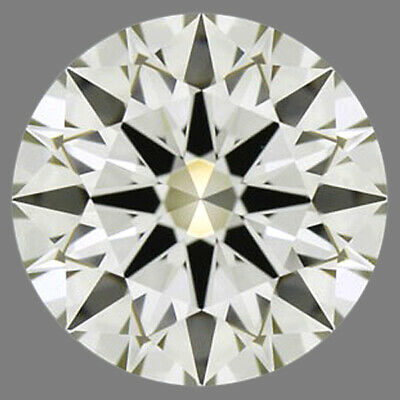 1.00 CT pour 1.05 CT Cvd Labo Grown Diamants 1 Pierre K vs Rond Coupe Hpht