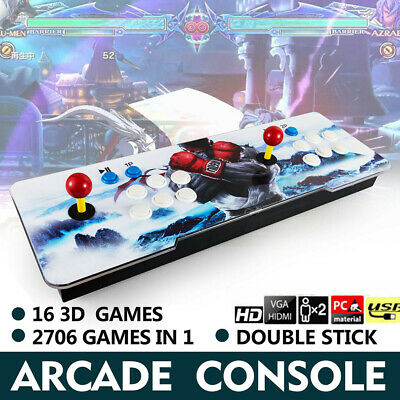 Update Pandora Box 11s 2706 in 1 Video HDMI HD Games Double Stick Arcade Console