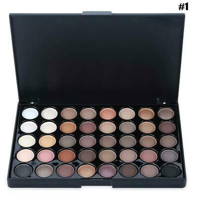 Cosmetic Matte Eyeshadow Cream Makeup Palette Sparkling Colors Gift Set 40 O0X