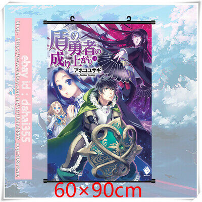 Poster Home Decor Scroll Anime The Rising of The Shield Hero Wall 60×90cm #X9