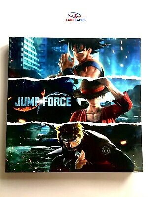 Jump Force Press Kit PS4 Presse Videojuego Videogame Rétro Unpublished Matiere