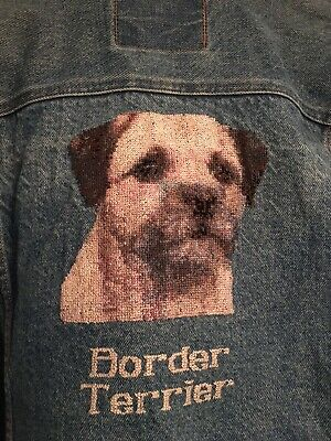 Cross Stitched Jean Jacket