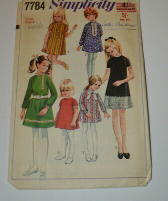 sewing pattern dress in 6 styles childs