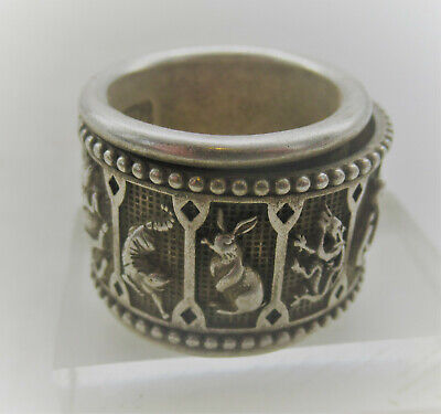Lovely Antique Chinese Silver Ring