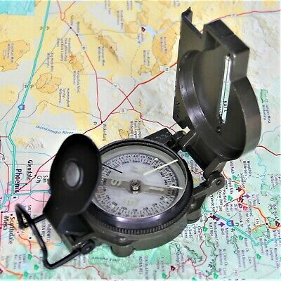 Kiffe Model #900 Military/Engineer Lensatic Compass Early '70's