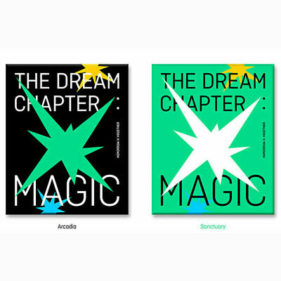 TXT TOMORROW X TOGETHER THE DREAM CHAPTER MAGIC CD+Book+Pad+Sticker(Poster optio