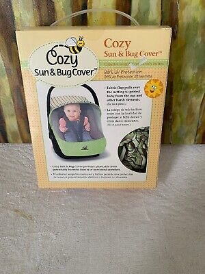 Cozy Sun & Bug Cover for Infant Carriers..NEW
