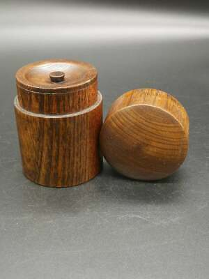 Japanese TEA CADDY Wooden Natsume Chaire Container Tea Tall 10 cm