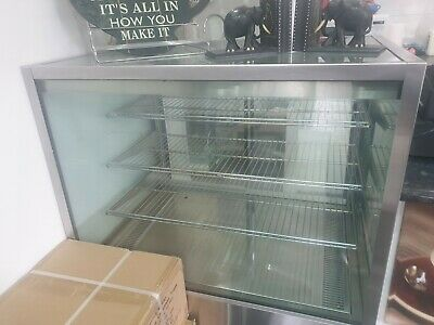 Commercial Food Warmer - Stainless Steel Pizza Pie Hot Display Showcase Cabinets
