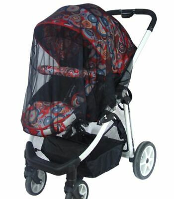 AU Seller bug black Cover Mosquito insect sun protect net mesh Pram/Stroller