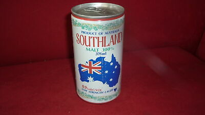 Old Australian Beer Can, West End Sa, Southland Lager