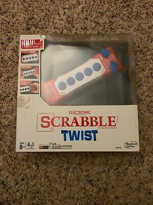 """Scrabble /"""" Twist /""""  Electronic Game New in Brown Box Toy Game Game Scrabble"""