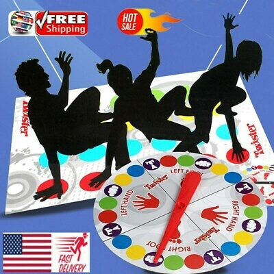 2019 Classic Twist Funny Family Moves Board Game Children Friend Body Games Hot