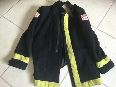CFA Black Coat Jacket Old Obsolete Country Fire Authority Firefighter Size 41?