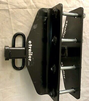 Draw-Tite 36424 Class II Frame Hitch with 1-1//4 Square Receiver Tube Opening