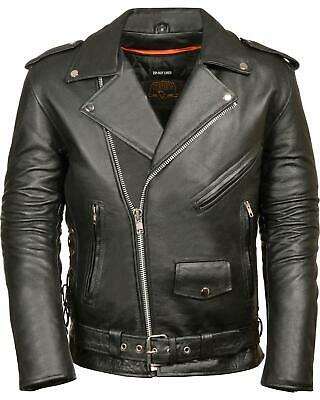 Milwaukee Leather Men/'s Classic Chap With Jean Pockets SH1101