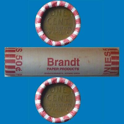 One Lincoln Wheat Cent Roll Pennies 1909-1958 PDS Mints 50 Coins Free Shipping