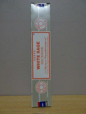 White Sage  Satya  1 x 15g Pack  Incense Sticks
