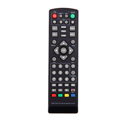 1Pc Universal Remote Control Replacement for TV DVB-T2 Remote Control