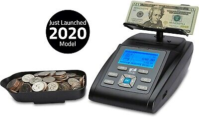 Money Counting Scale Coin Counter Bill Note Cash Currency Machine Printer ZZap