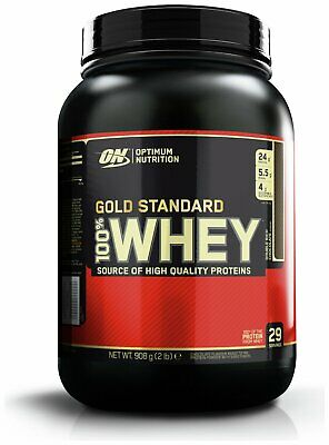 Optimum Nutrition Gold Standard 100% Whey Protein 908g Double Rich Chocolate