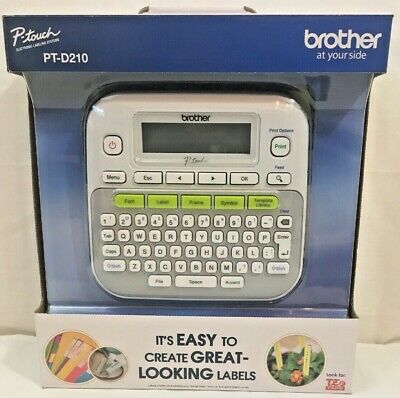 New brother P-Touch PT-D210 Electronic Labeling Machine
