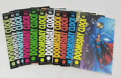 Doomsday Clock set of 11 DC Comics some variants