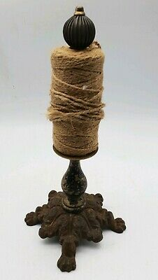Sewing Machine String Twine Holder Dispenser Cast Iron Plant Garden Border Plot