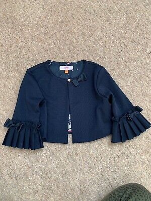 Ted Baker Girls Dress Jacket Age 7. Navy Blue
