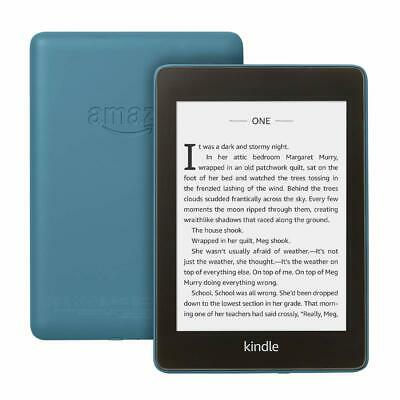 Amazon Kindle Paperwhite (10th Gen), 8GB, Water-proof, Wi-Fi, 2018 - Blue , New