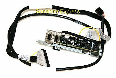 LOT OF 3 Dell Precision T3400 T5500 40 Pin 20 In Front I-O Cable JN454