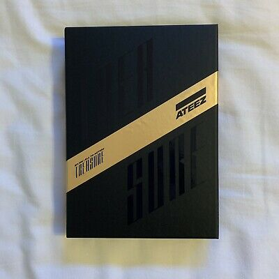 ATEEZ Treasure EP.Fin: All to Action Album (A Version) w/ Group Photocard