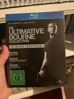 Pack El Ultimatum De Bourne - En Blu-Ray - Nueva - Bluray