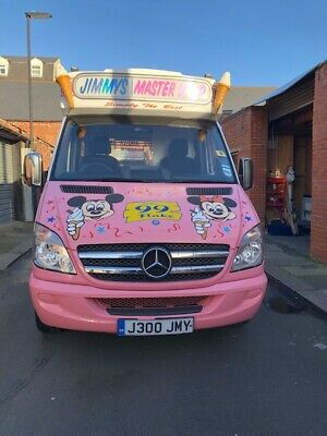 Ice Cream Van Mercedes Sprinter 309
