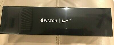 NEW SEALED Apple Watch Series 5 - Nike (GPS) 44mm Space Gray Aluminum Case