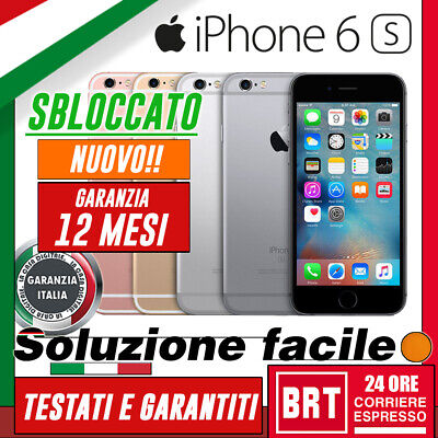 Nuovo!! Smartphone Apple Iphone 6S 16Gb/32Gb/64Gb/128Gb Originale! Sbloccato!!!!