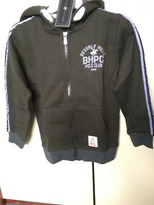 "100% AUTHENTIC ""Beverly Hills Polo Club"" Hoodie -- Age - 7-8 Years - BNWT"