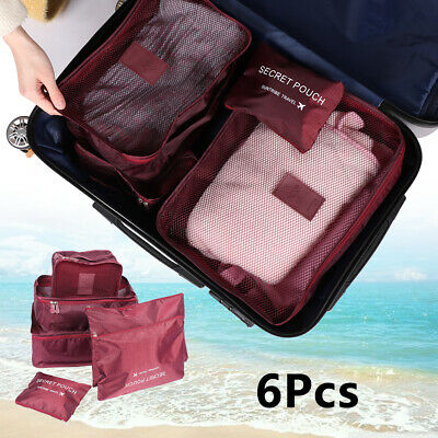 Cosmetic Toiletry Luggage Pouch Clothes Organizer Travel Storage Bag Underwear