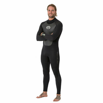Wetsuit Animal Lava 5/4 Blindstitched Backzip 2020 - Noir