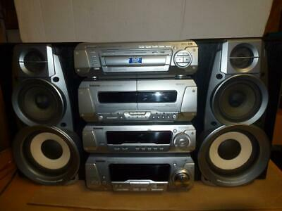 Technics DV290 SEPARATE COMPONENT STEREO SYSTEM+2 Speakers-No Remote