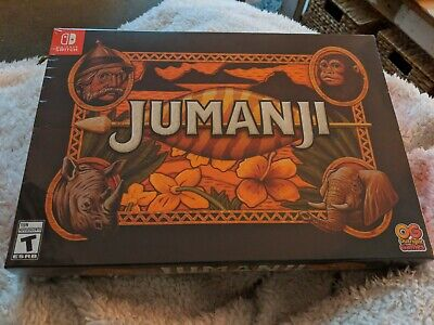 Jumanji Collector's Edition - Nintendo Switch - Limited Run Games - In Hand NIB