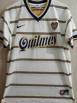 Boca Juniors Jersey Maglia Shirt Vintage 1990/91 Adidas Taglia (2/M) Made In Arg