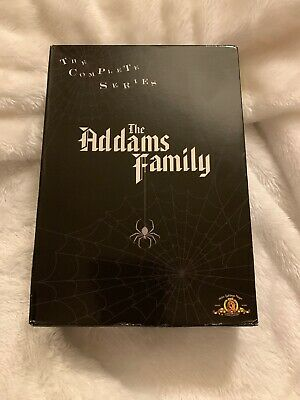 The Addams Family - Complete Series (DVD, 2007, 9-Disc Set) 1964 Tv Series