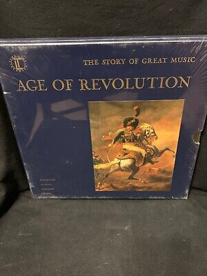 Time Life Story Of Great Music Age Of Revolution LP Record Box Set