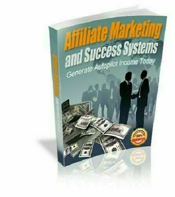 Affiliate Marketing and Success Systems eBook PDF Full Master Resell Rights