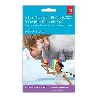 Adobe - Photoshop Elements 2020 & Premiere Elements 2020 - Windows - Digital ...