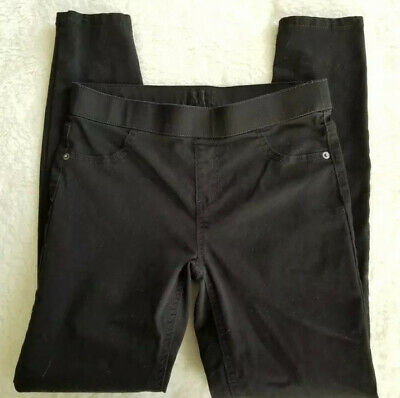 Justice Black Jeggings Girls Size 14 Mid Rise