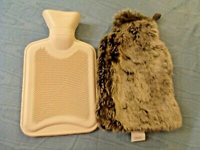 Faux Fur Covered Hot Water Bottle By World Market